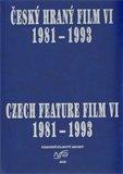 Český hraný film VI. 1981 - 1993 - obálka