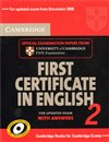 Cambridge First Certificate in English 2 for Updated Exam