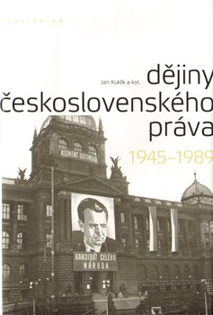 Oblka titulu Djiny eskoslovensk&#233;ho pr&#225;va 19451989
