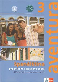 Aventura 3. učebnice s pracovním sešitem + 2CD