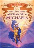 Vykládací karty archanděla Michaela (Kniha a 48 karet) - obálka