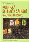 Obálka knihy Politická šetření a šátrání