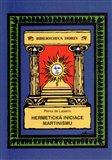 Hermetická iniciace Martinismu - obálka