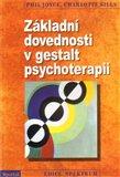 Základní dovednosti v gestalt psychoterapii - obálka