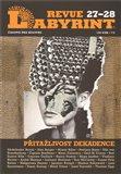 Labyrint revue 27-28 / 2011 (Přitažlivost - dekadence) - obálka