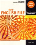 New English File Upper-Intermediate Student´s Book with CZ wordlist - obálka