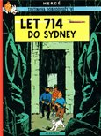 Tintin - Let 714 do Sydney - obálka