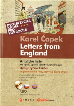 Oblka titulu Anglick&#233; listy  Letters from England
