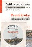 Čeština pro cizince/Tschechisch als Fremdsprache (První kroky / Die ersten Schritte+CD) - obálka
