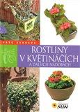 Rostliny v květináčích a dalších nádobách - obálka
