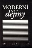 Moderní dějiny 19 (Časopis pro dějiny 19. a 20. století) - obálka