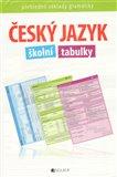 Český jazyk – školní tabulky (Přehledné základy gramatiky) - obálka