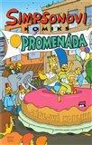 Simpsonovská komiksová promenáda (Simpsonovi) - obálka