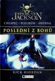 Poslední z bohů (Percy Jackson 5) - obálka