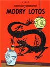 Tintin - Modr&#253; lotos