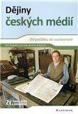 Dějiny českých médií - obálka