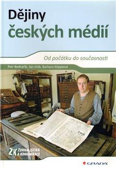 Obálka titulu Dějiny českých médií