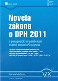 Novela zákona o DPH 2011 - obálka