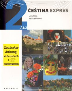 Obálka titulu Čeština Expres 2 A1/2 - německy + CD