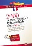 2000 nejpoužívanějších francouzských slov + CD MP3 - obálka