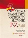 Česko-španělský odborný slovník, 2. díl - obálka