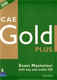 CAE Gold Plus Exam Maximiser (with Key) and Audio CD - obálka