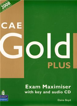 Obálka titulu CAE Gold Plus Exam Maximiser (with Key) and Audio CD