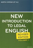 New Introduction to Legal English I. - obálka