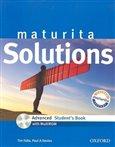 Maturita Solutions Advanced Student's Book + CD-ROM - obálka