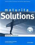 Maturita Solutions Advanced Workbook - obálka