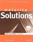 Maturita Solutions Upper-Intermediate Workbook - obálka