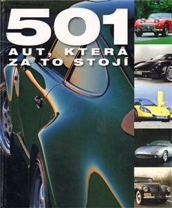 Obálka titulu 501 aut, která za to stojí