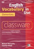 DVD-English Vocabulary in Use Elementary Classware - obálka