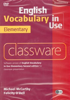 Obálka titulu DVD-English Vocabulary in Use Elementary Classware