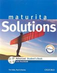 Maturita Solutions Advanced Student's Book + CD-ROM - obálka