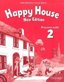 Happy House 2 New Edition. Pracovní sešit + MultiROM - Stella Maidment, Lorena Roberts