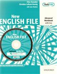 New English File advanced workbook with key + MultiROM pack - obálka