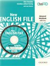 New English File advanced workbook with key + MultiROM pack