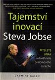 Tajemství inovací Steva Jobse - obálka