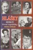 Hlášky herců První republiky - obálka