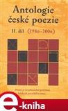 Antologie české poezie II. díl (1986–2006) (Elektronická kniha) - obálka
