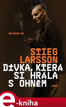 Dívka, která si hrála s ohněm. Milénium 2 - Stieg Larsson e-kniha