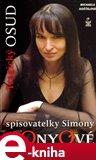 Tragický osud spisovatelky Simony Monyové - obálka