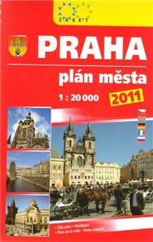Obálka titulu Praha. Plán města, 1:20 000