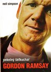 Obálka knihy Pekelný šéfkuchař Gordon Ramsay