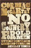 No Country for Old Men - obálka