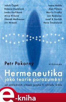 Obálka titulu Hermeneutika jako teorie porozumění