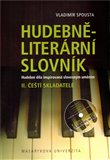 Hudebně-literární slovník  II. (Čeští skladatelé) - obálka