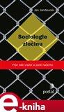Sociologie zločinu - obálka