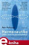 Hermeneutika jako teorie porozumění - obálka